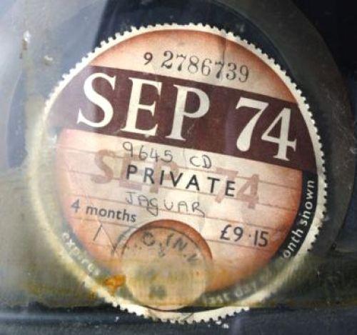 1974 tax disc