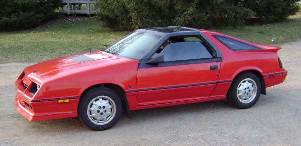 1986_Daytona_Turbo_Z_CS_(Carroll_Shelby)_with_T_roof