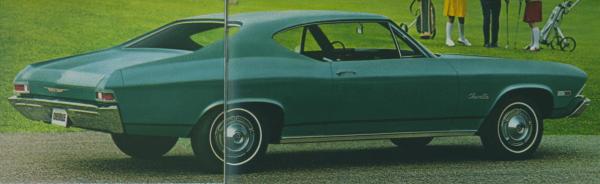 Chevelle 1968 300 hdtop coupe
