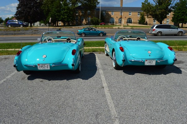 Corvette 1957 2 rear