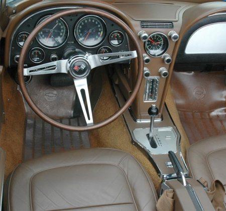 Corvette 1967 automatic shifter