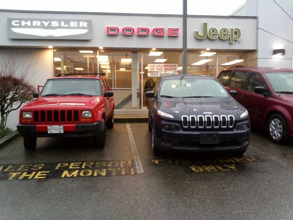 Jeep Cherokee new and old