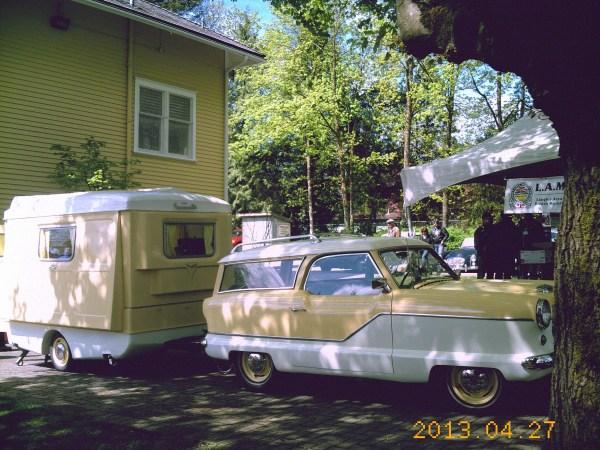 Metropolitan wagon and trailer
