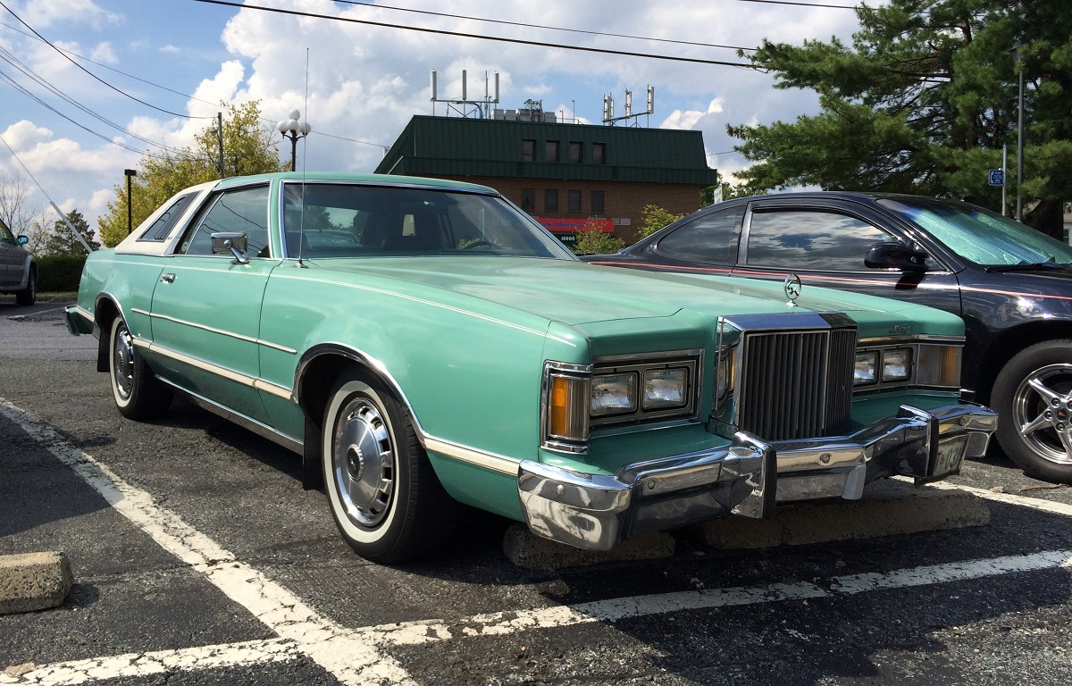 curbside classic 1977 79 mercury cougar xr7 the first thundercat. Black Bedroom Furniture Sets. Home Design Ideas