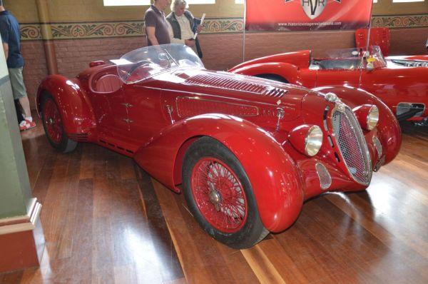 1938 Alfa Romeo 6C2300MM spider