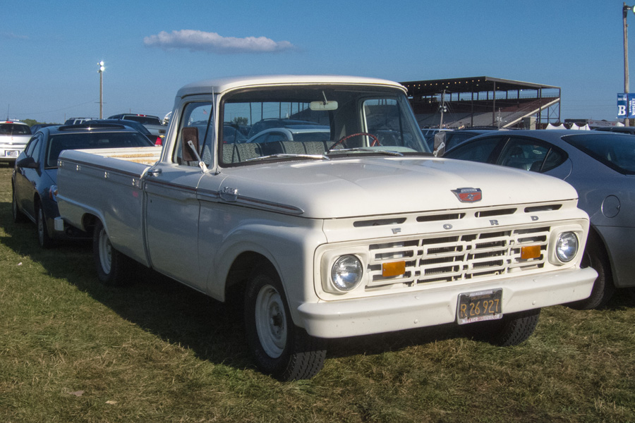 Curbside Classic 1964 Ford F 100 Setting The Pace For