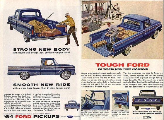 64 Ford ads