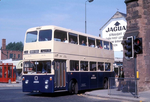 Daimler Fleetline in Coventry