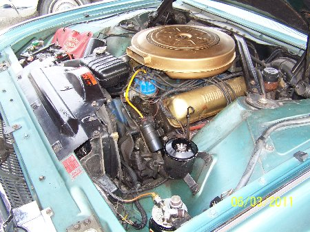 Ford Thunderbird 1961 engine