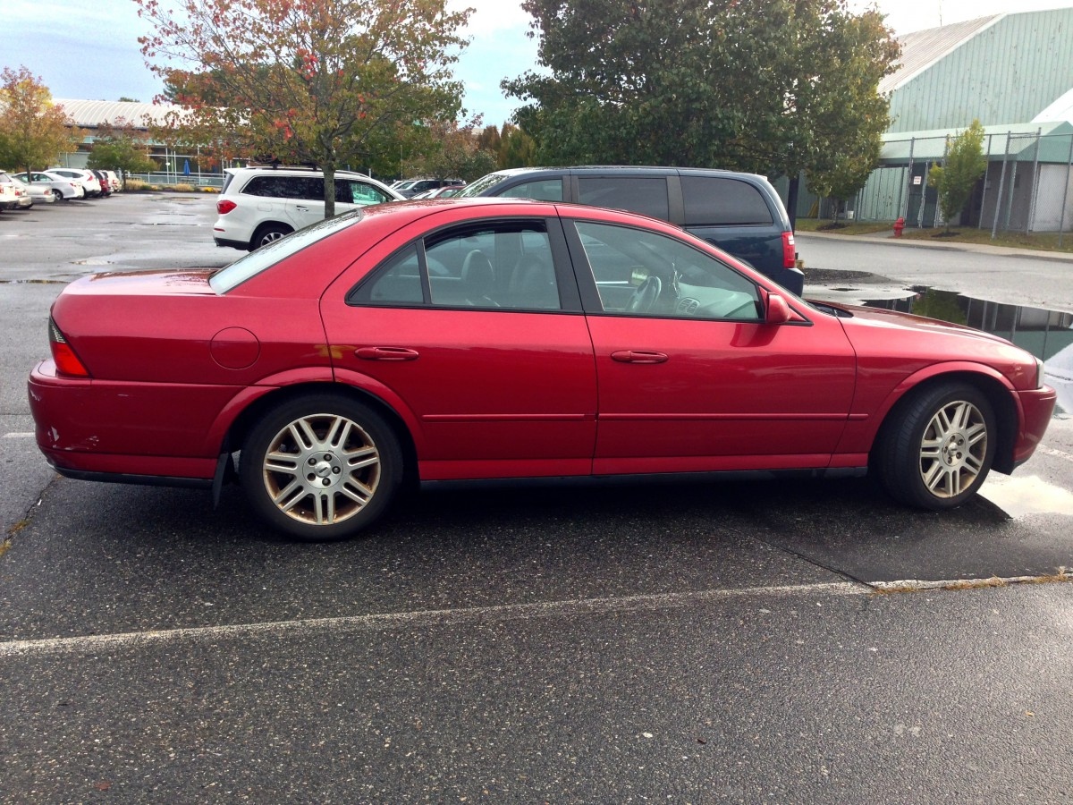 Curbside Classic 2003 Lincoln Ls V8 Momentarily Reach Higher