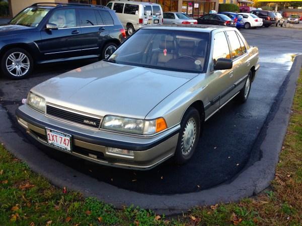 Curbside Classic 1989 Acura Legend Ls Sedan The Empire Strikes Back Curbside Classic