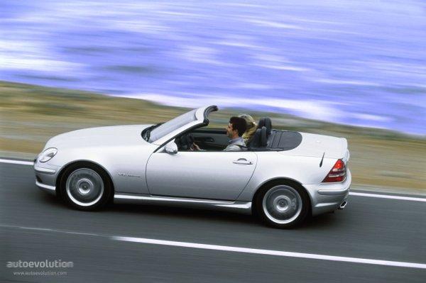 Mercedes SLK drive