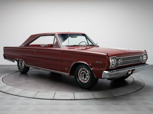 Plymouth 1967 Satellite coupe