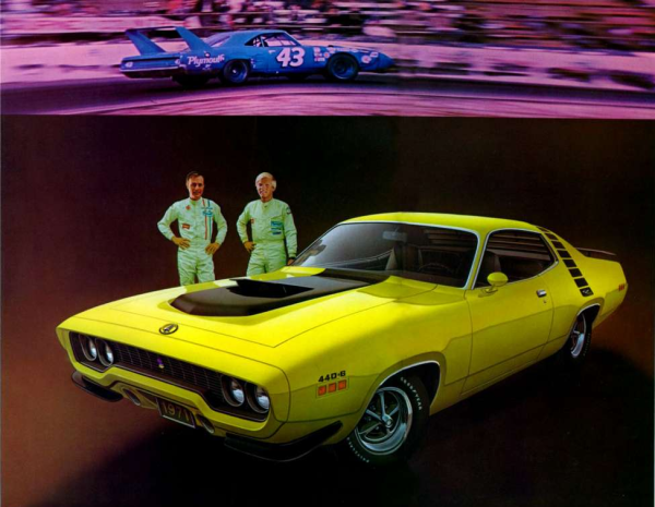 Plymouth 1971 Road Runner br yellow