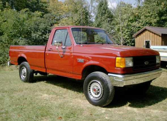 1987 Ford F250 >> Craigslist Find 1987 Ford F 250 4 4 Local Beef Curbside