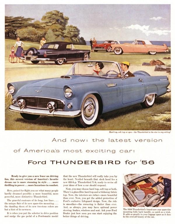 Thunderbird 1956 advertisement neg CN18641-048