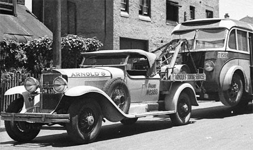 1929 Cadillacwrecker