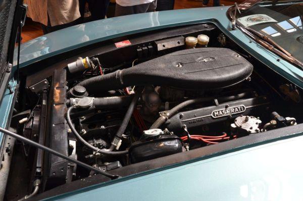 1967 Maserati Ghibli engine