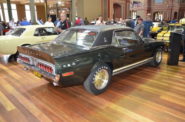 1968 Ford Mustang Shelby EXP 500 replica