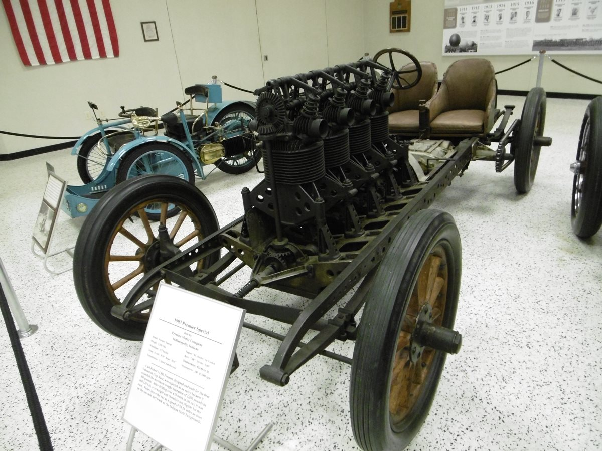 Museum Classic/Automotive History: 1903 Premier – The First OHC ...