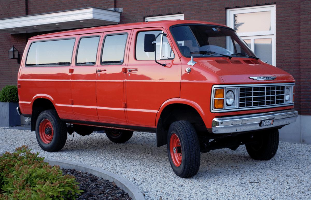 4x4 Van For Sale >> Reader Ride: Dodge Mowag 4×4 B350 Van – Rare Swiss Mopar Mowagen