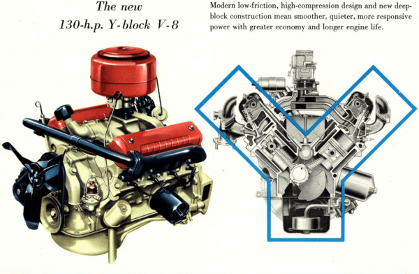 Ford Y block brochure large