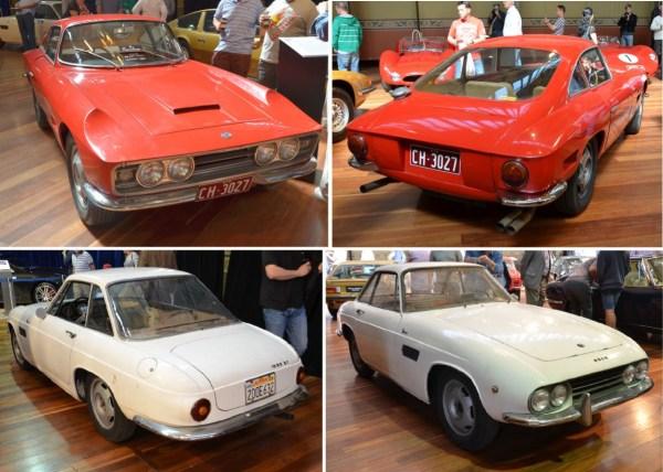 1961 Osca 1600 Boneschi and Fissore coupes