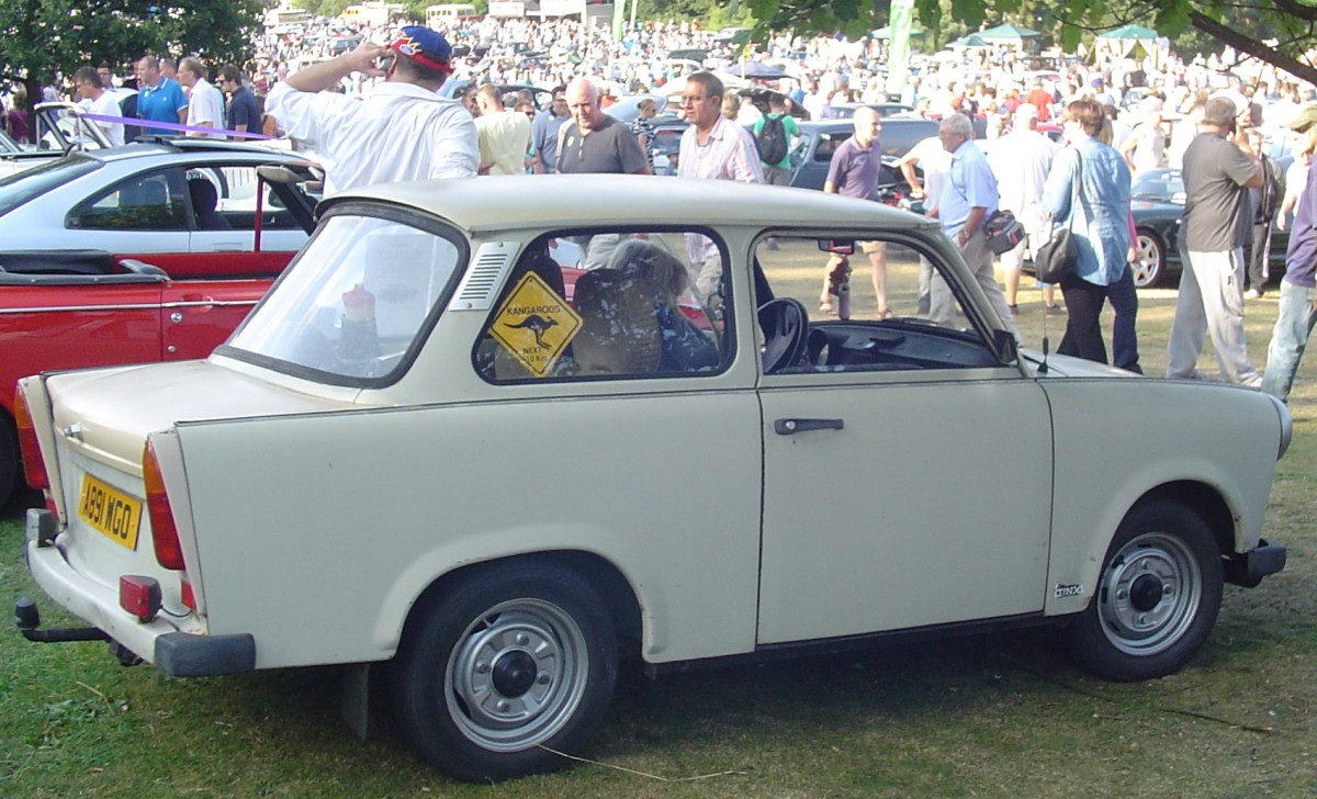 Carshow Classic Trabant S The Other People S Car From