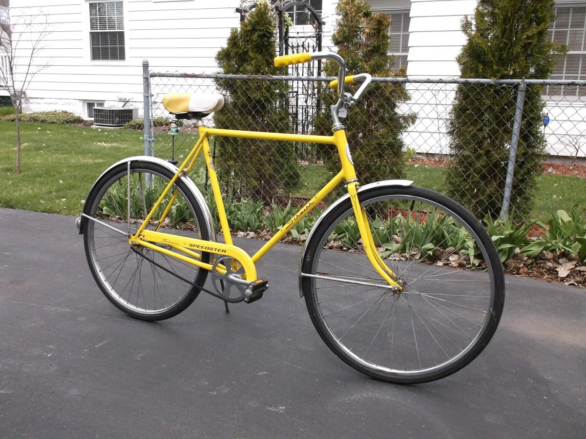 1973112a2b9 Bicycle Outtake: 1973 Schwinn Speedster–Kool Lemon for the Long of Leg
