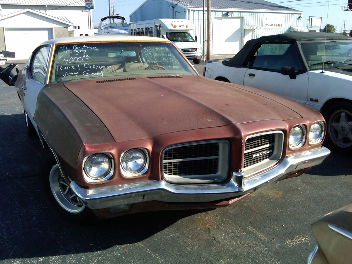 Curbside Classic 1971 Pontiac T 37 We Build Confusion Curbside Classic