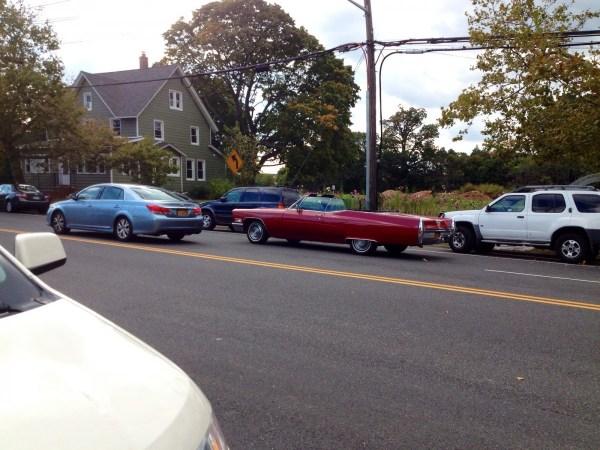 Cadillac 1968 conv red