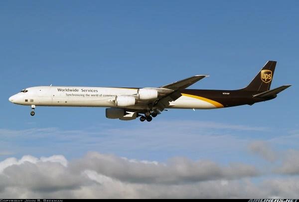 DC-8 71 UPS