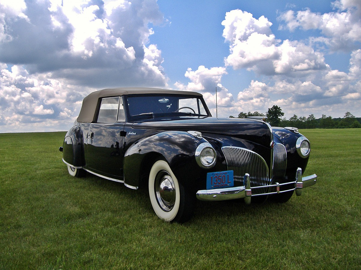 The Great 28, Car #1–1940/41 Lincoln Continental Cabriolet: The Most ...