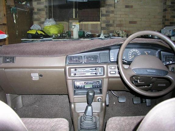 Nissan Pintara U12 interior