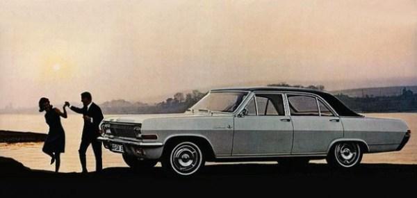 Opel Diplomat A sedan