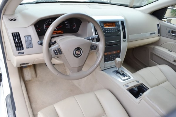 cadillac sts 2005 base interior