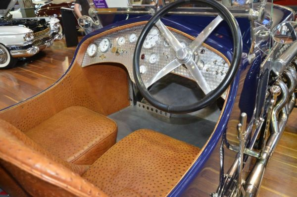 1923 Delage CO2 Hispano Suiza Special interior