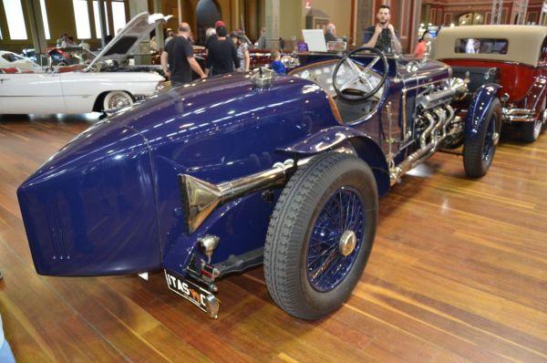 1923 Delage CO2 Hispano Suiza Special rear