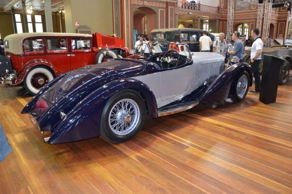 1932 Delage D8S rear