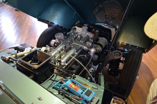 1952 Aston Martin DB2 Mk2 engine bay