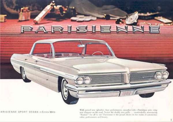1962 Pontiac Parisienne 4 door Sport Sedan
