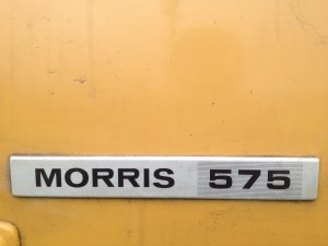 1980 MORRIS Marina can orange badge