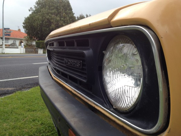 1980 MORRIS Marina can orange grille2