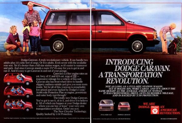 1984 Dodge Caravan brochure