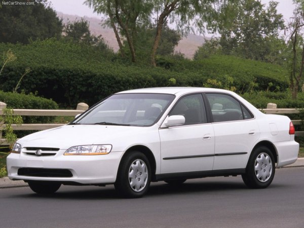 1998 Accord white