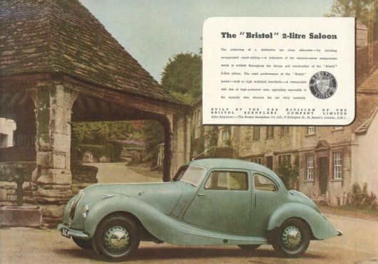 Bristol 400 advert