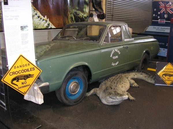 Crocodile Dundee VC ute