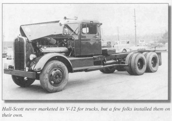 Hall Scott V12 truck 800