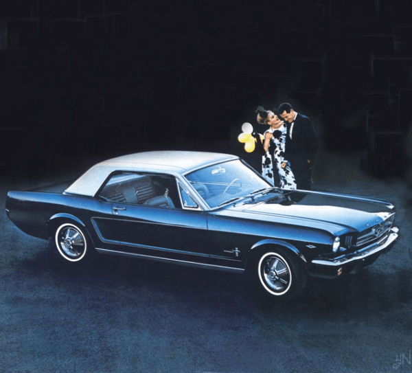 Mustang 1964 bochure luxo