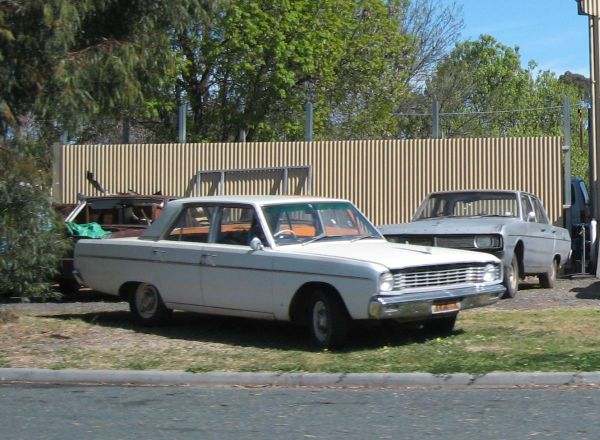 VE white sedan